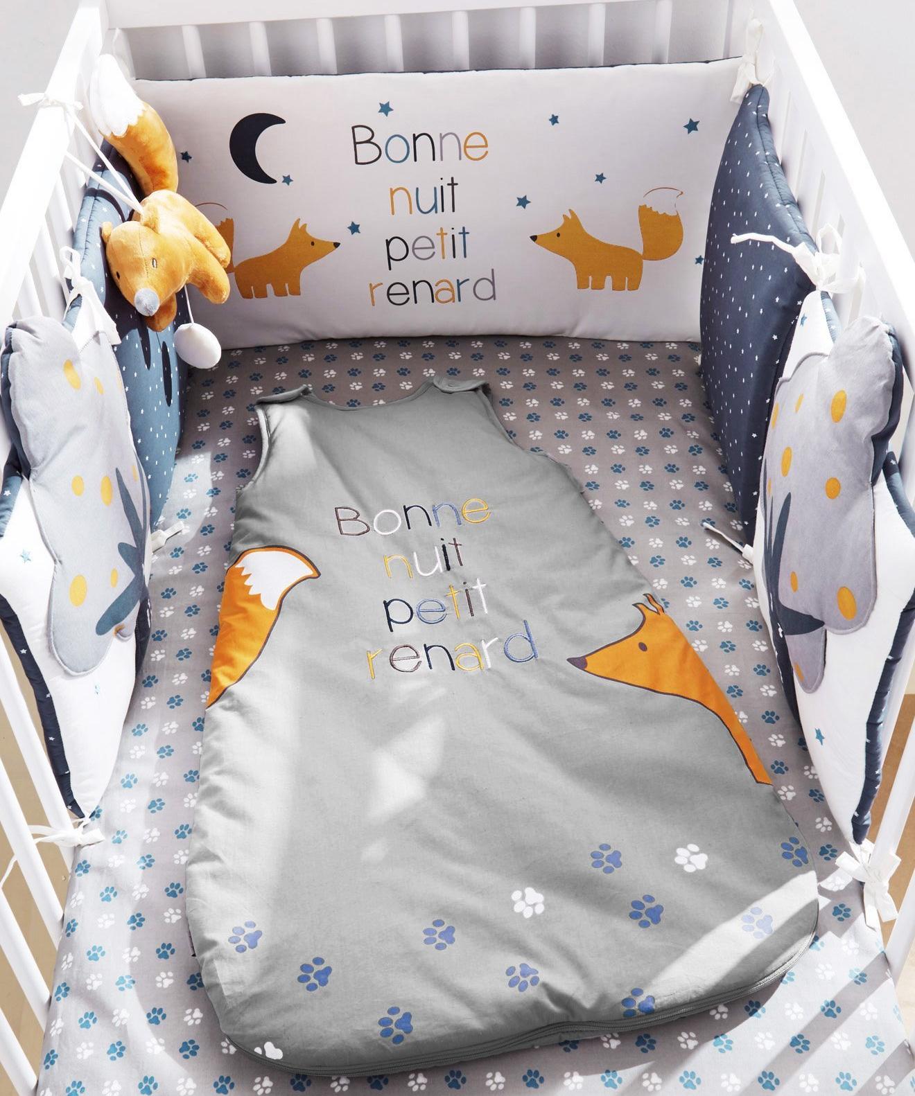Tour de lit bébé Petit Renard verbaudet avis blog liste de naissance