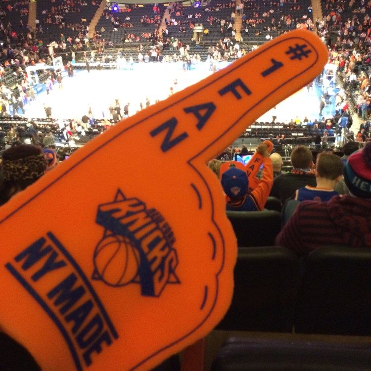 New York Madison Square Garden Knicks Basket Game bonnes adresses à faire absolument blog voyage