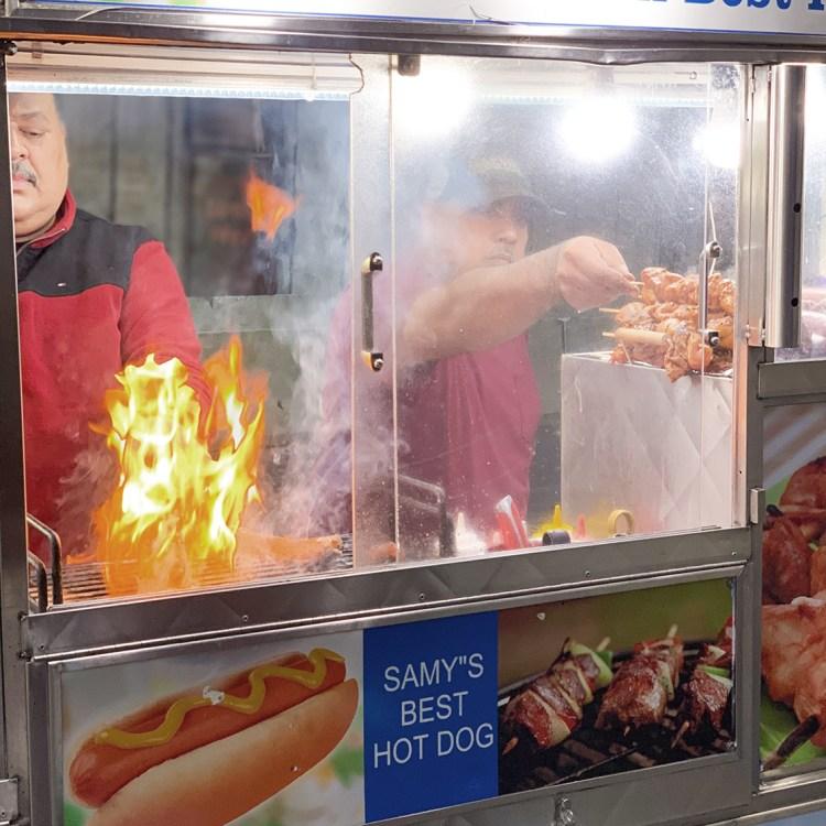 New York brooklyn bridge pont manhattan samy best hot dog bonnes adresses à faire absolument blog voyage dans mon sac de fille