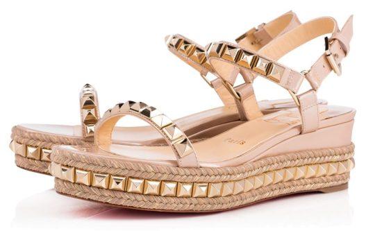 Wishlist cadeaux d'anniversaire pour mes 34 ans blog beauté sandales Cataclou Vernis Nacre Loubouton