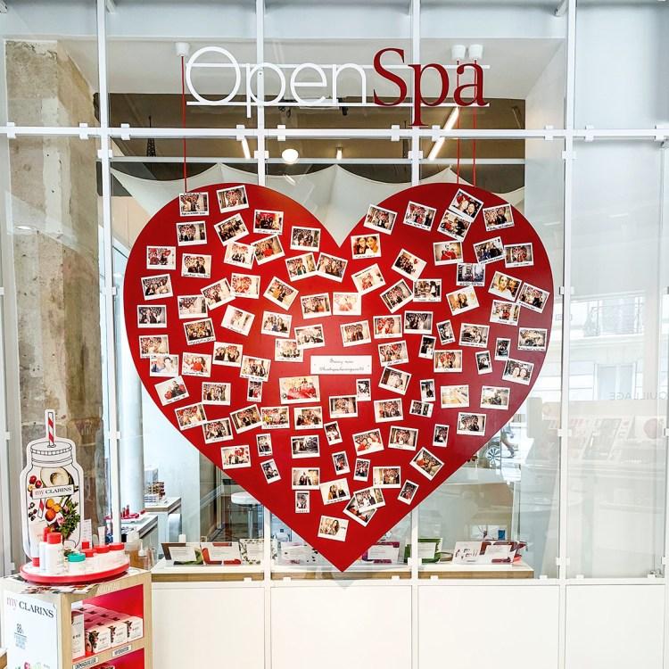 J'ai testé l'Open Spa Clarins mon avis sur l'institut de beauté spécial citadine blog
