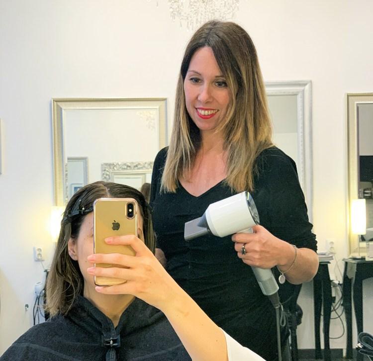 Comment j'ai sauvé mes cheveux après la grossesse grâce au Botox Capillaire de Celine Dupuy avis blog