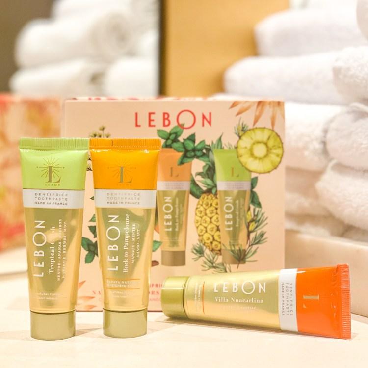 Lebon découverte de la marque et de son mini kit de dentifrices avis blog france