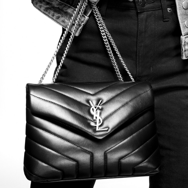 Wishlist annniversaire pour mes 35 ans cadeaux blog sac à mains Loulou en cuir noir matelassé YSL