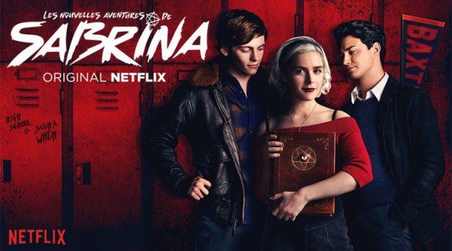 Netflix and chill Top 10 de mes séries préférées avis blog les nouvelles aventures de sabrina