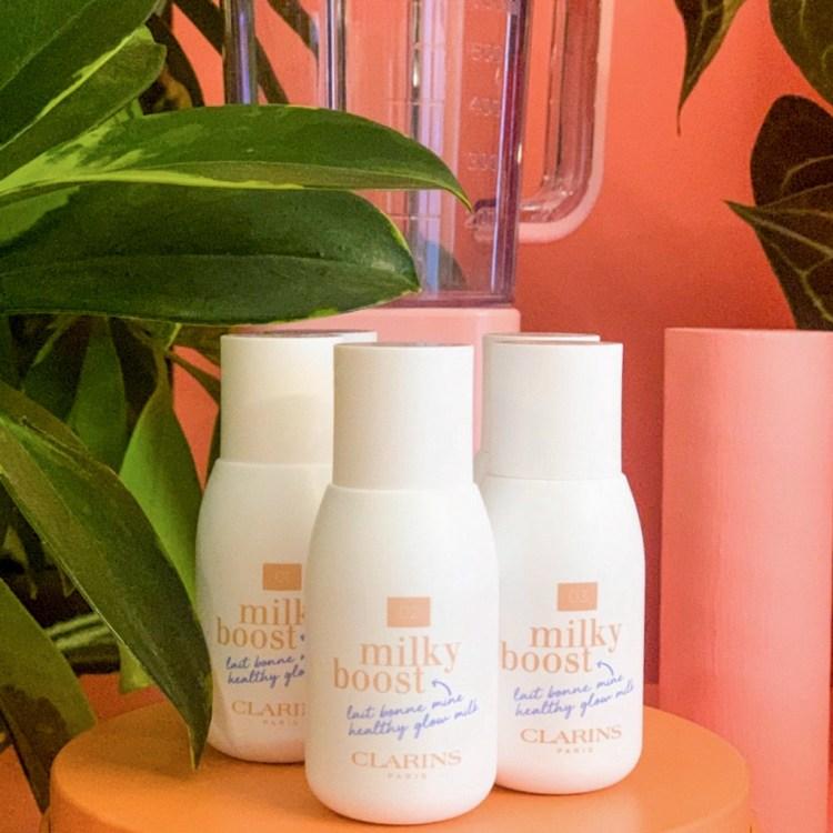 Mon avis sur le lait maquillant Milky Boost de Clarins blog test