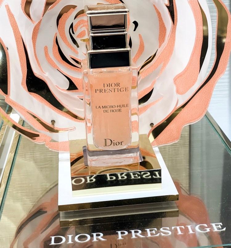 J'ai testé le Micro Peeling Dior mon avis sur le nouveau soin à la pointe de la technologie blog micro huile rose dior prestige