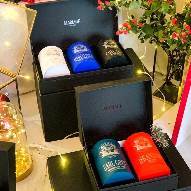 La collection de Noël Mariage Frères avis blog coffret cadeau thé