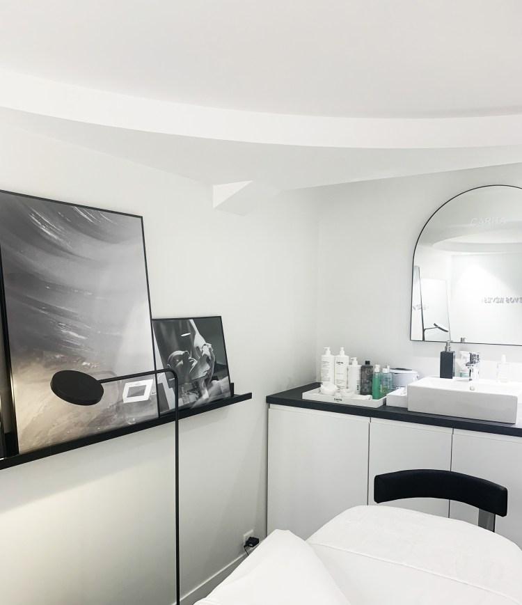 La luxueuse Maison de Beauté Carita à Paris avis blog test
