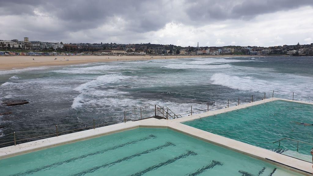 Piscine au bord de la mer à Bondi Beach Sydney