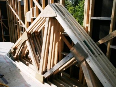Construire des fermes de toit en bois de charpente