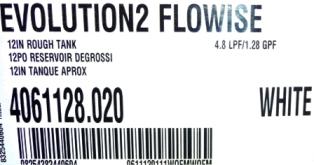 toilette Evolution2 Flowise 4,8 litres