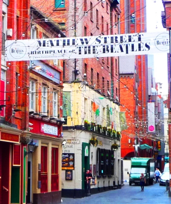 Mathew Street - Birthplace of the Beatles