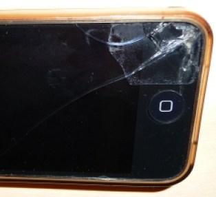 vitre briser iphone