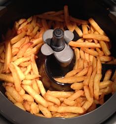 frites cuites actifry