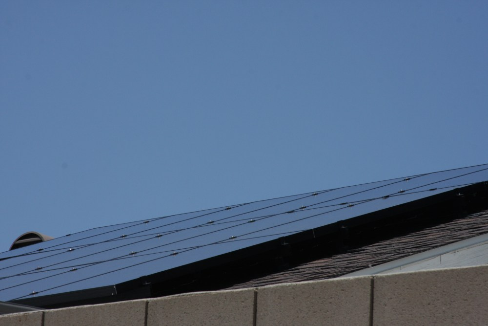 My neighbor's Sungevity solar installation today...photos! (6/6)