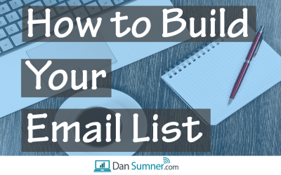 How and Where to Build Your Email List