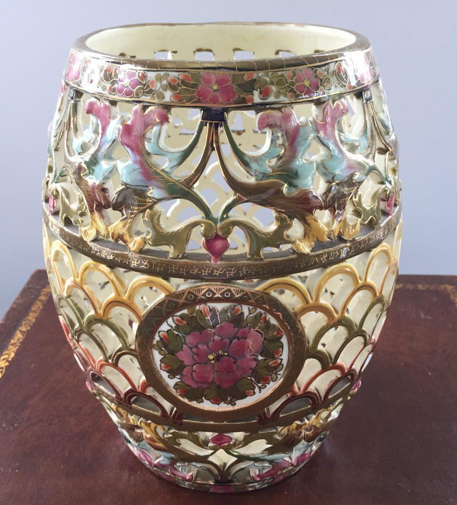porcelain vase from budapest Hungary