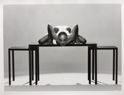 Nude photo of woman taken by artist Guenter Knop