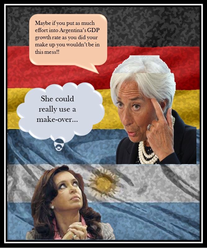 ARGENTINA'S GDP GETS BOTOX