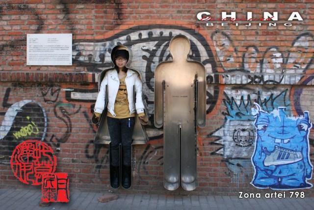 Descoperind China - Beijing, Zona Artei 798 F