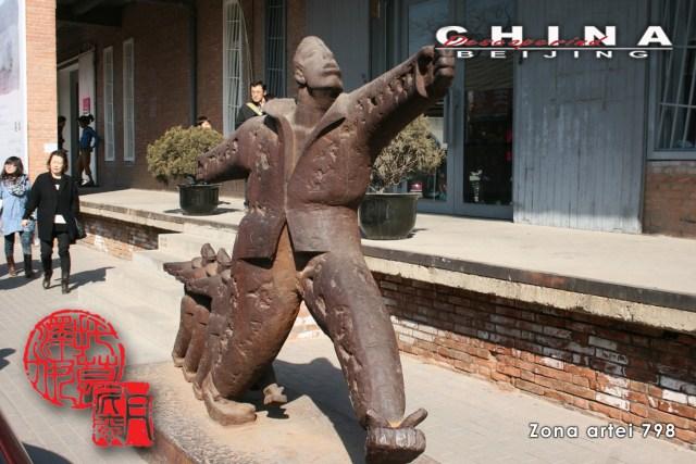 Descoperind China - Beijing, Zona Artei 798 I