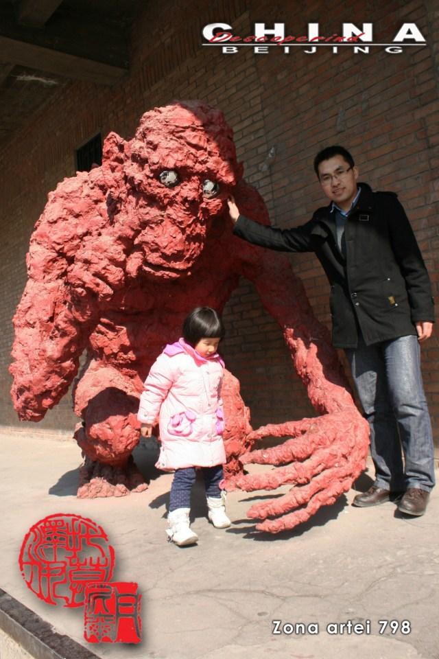 Descoperind China - Beijing, Zona Artei 798 L
