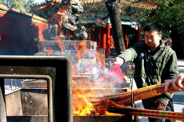 Bejing Templul Yonghe Lama