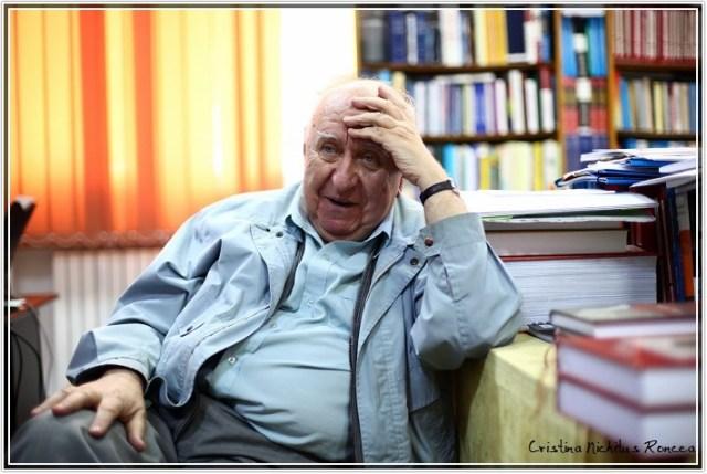 Profesor Gheorghe Buzatu Foto Cristina Nichitus-Roncea