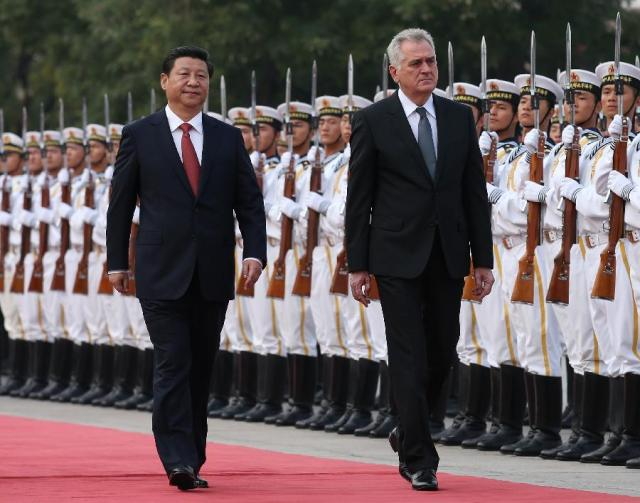 Xi Jinping - Tomislav Nikolic_Beijing 26.08.2103