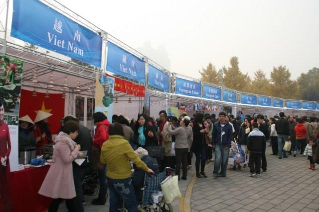Republica Moldova - Targ de caritate, MAE Chinez 02.11.2013 C
