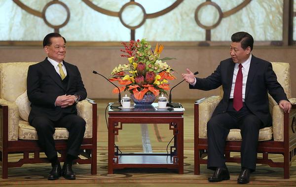 Lien Chan - Xi Jinping