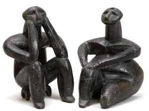 Ganditorul de la Hamangia si femeia lui