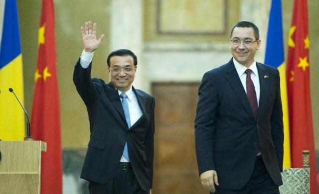 Li Keqiang - Victor Ponta, noiembrie 2013