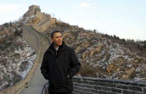 Pe Marele Zid Barack Obama, SUA