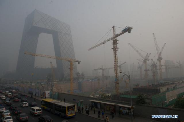 Poluare Beijing APEC 2014 1