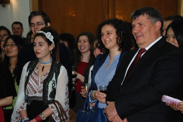 Ambasadorul R Moldova, Anatol Urecheanu la reuniunea Romanilor din China, 2014