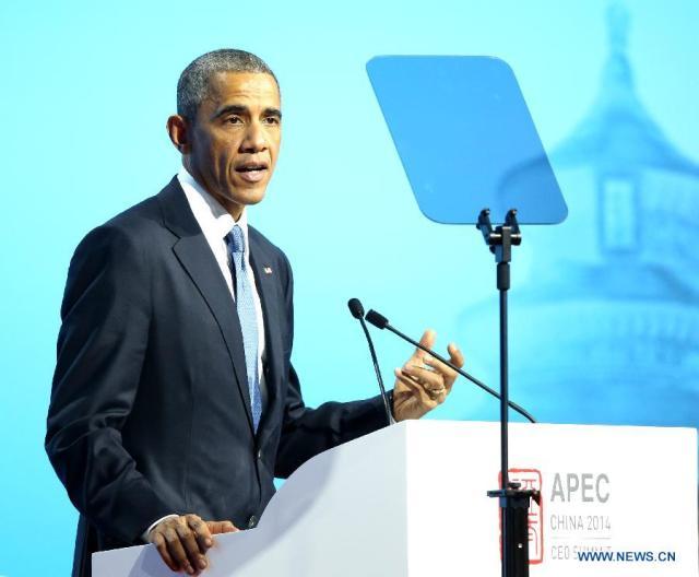 Barack Obama, APEC China 2014 1