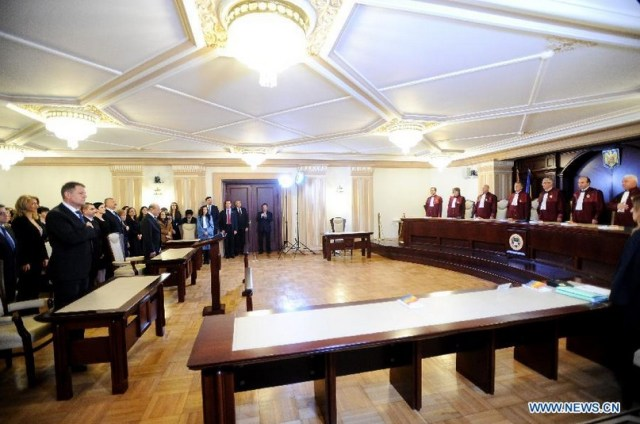 Xinhua - Iohannis confirmat presedinte al Romaniei B