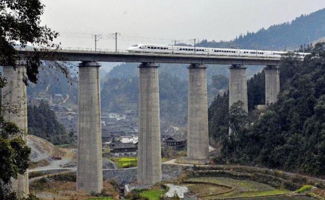 China, cale ferata de mare viteza 4