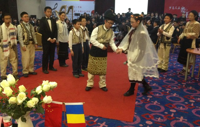 Cultura romana omagiata in China FF