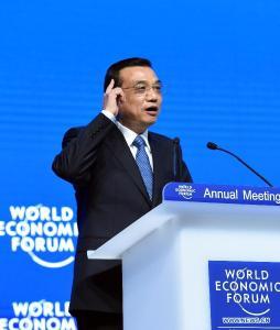 Li Keqiang, Davos 2015 C