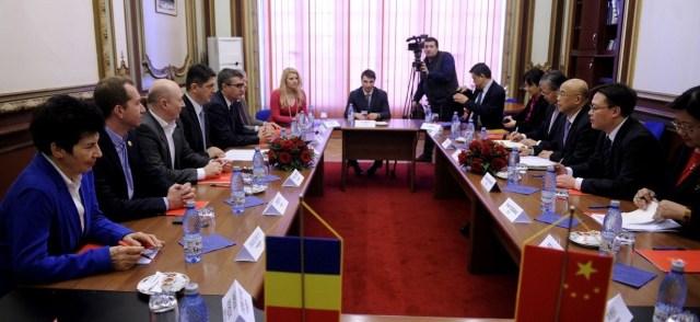 O delegatie a Partidului Comunist Chinez a vizitat Romania