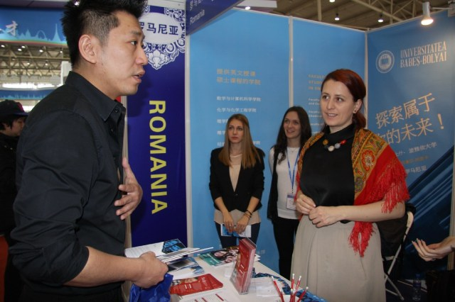 UBB Cluj Napoca la Targul International Educational China 2015 B