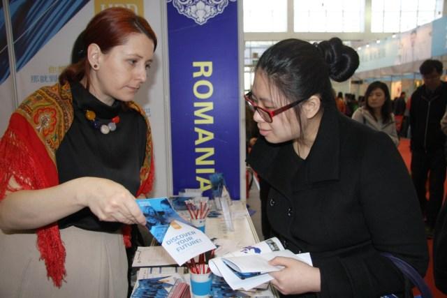 UBB Cluj Napoca la Targul International Educational China 2015 C