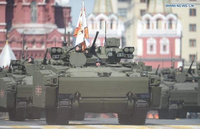 BMP Kurganets-25, Moscova 9 mai 2015