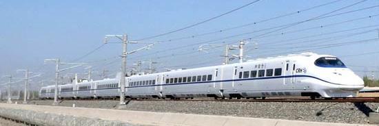 Tren de mare viteza, China