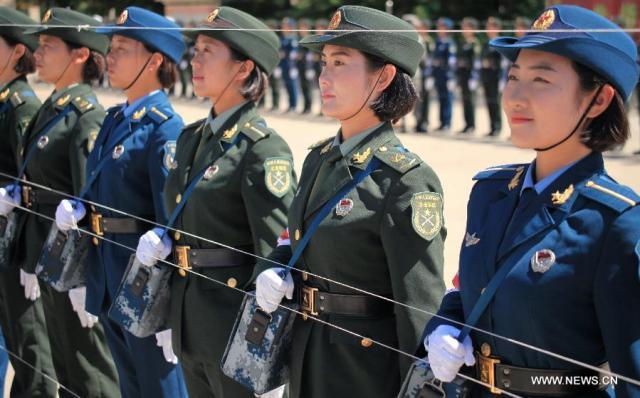 1 Parada militara 70 de ani WW II, pregatire