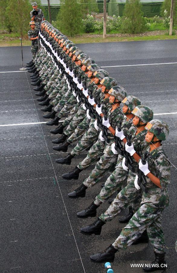 5 Parada militara 70 de ani WW II, pregatire