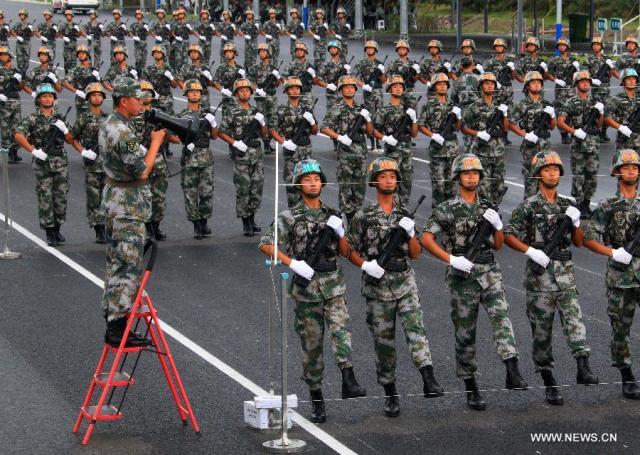 6 Parada militara 70 de ani WW II, pregatire